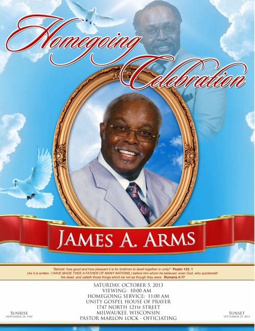 The Obituary Of My Dad James A. Arms