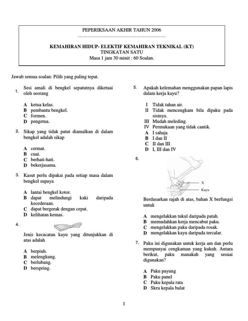 Copy of SAMPEL UJIAN AKHIR TAHUN
