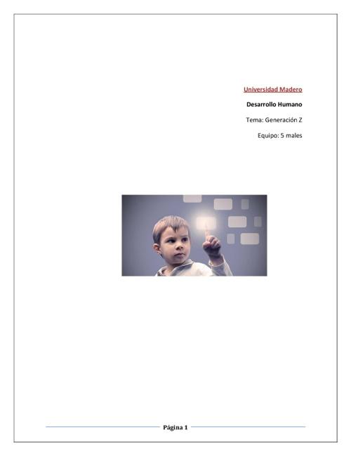 Generación Z (Investigación)