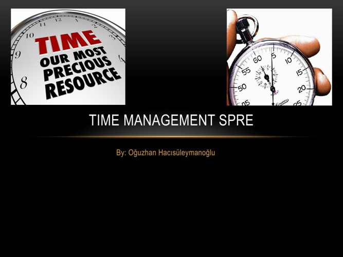 Spre Time management