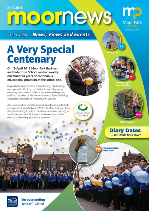 Moor Park June 2013 Newsletter