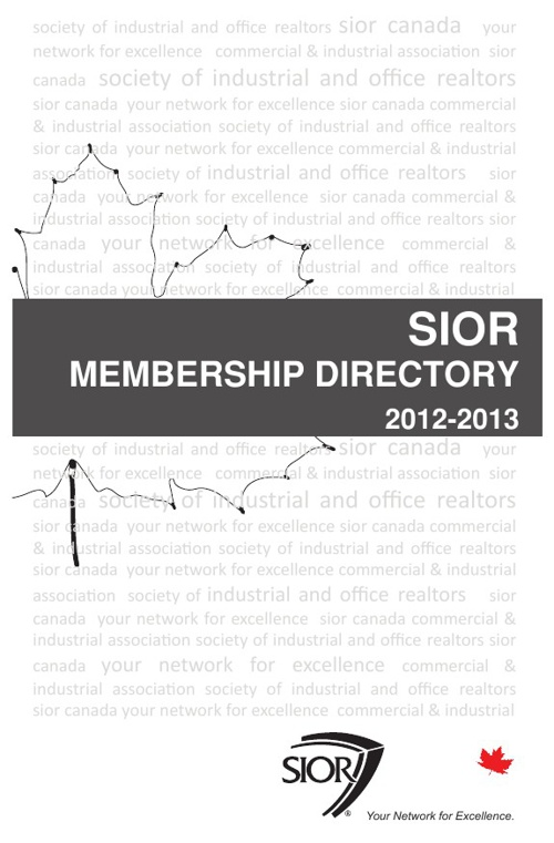 SIOR 2012 - 2013 Directory