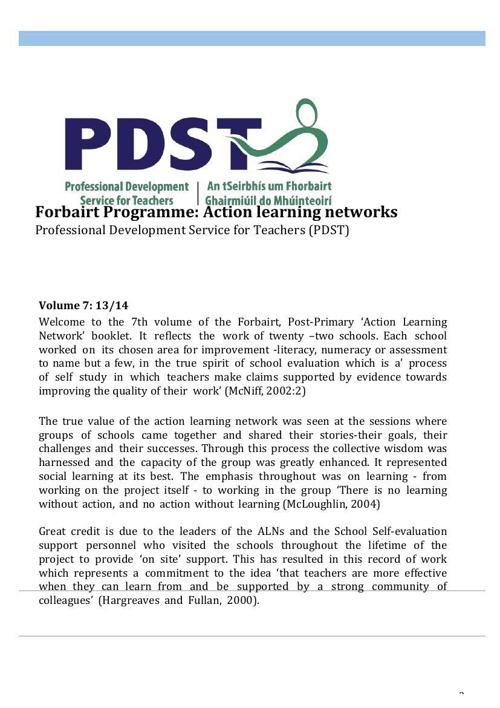 PDST Forbairt Programme
