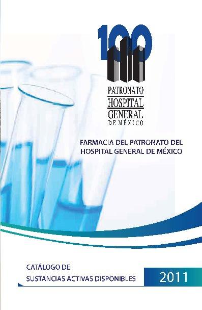Catalogo Sustancias Activas 2011