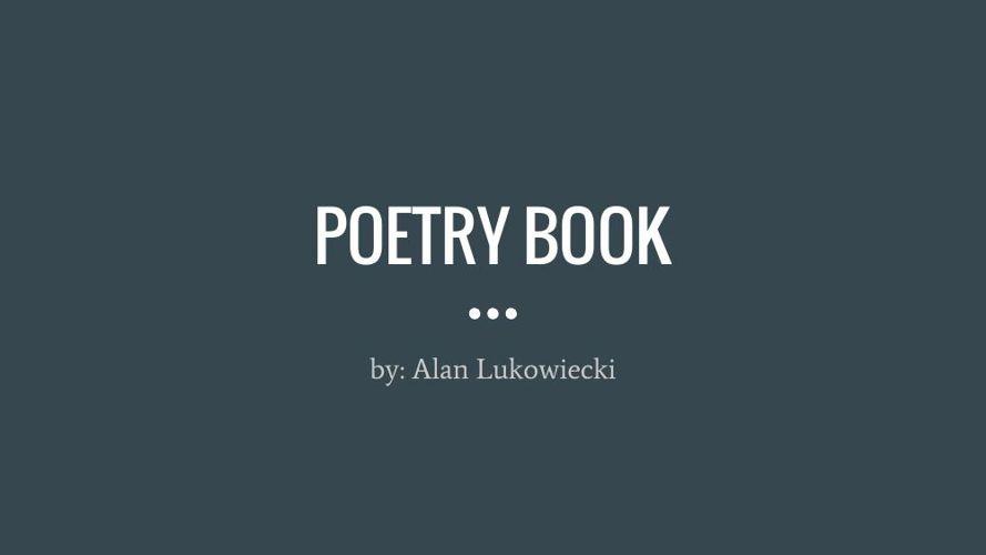 Poetry Book aluko
