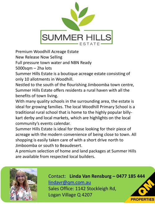 Summer Hills  Brochure and Price