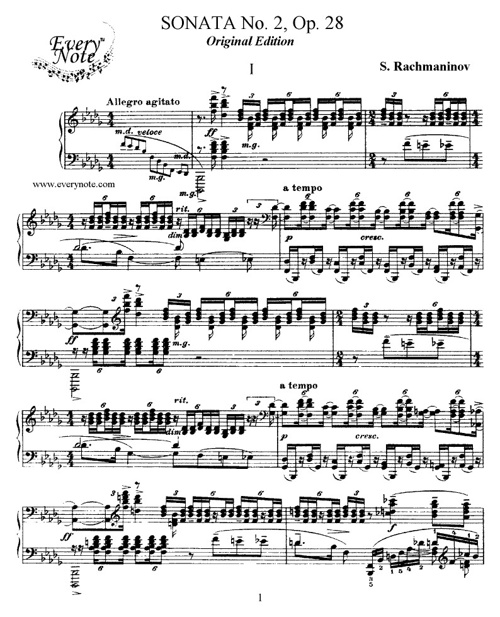 Rachmaninov Sonata 2