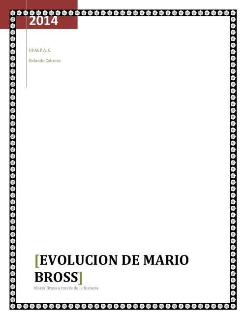 Reto 6 Mario Bross