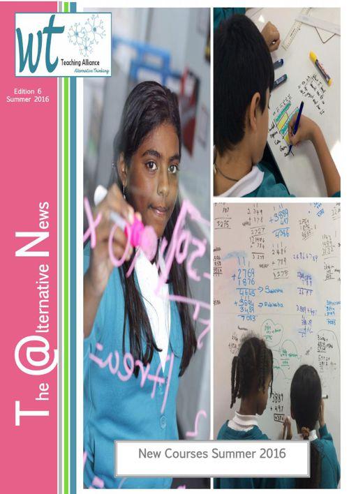 Teaching School Brochure Summer 2016 ONLINE VERSION NEW