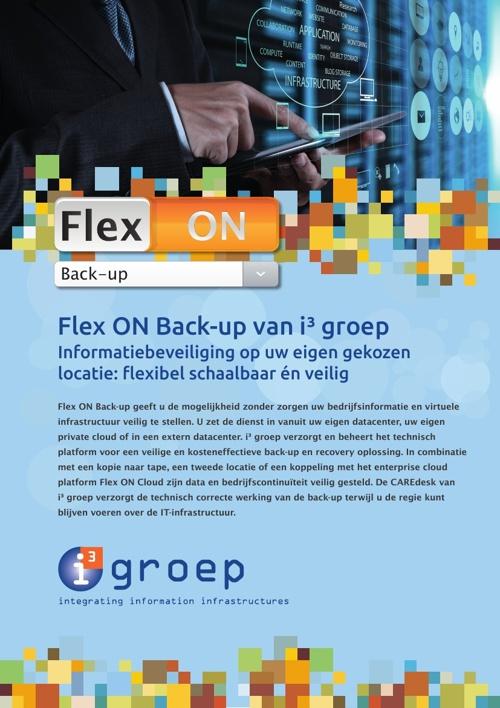 Flex ON Back-up