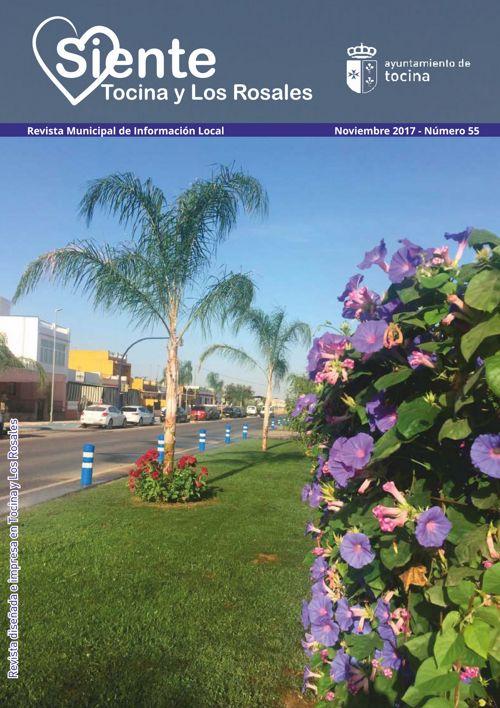 Revista Siente Tocina y Los Rosales Noviembre 2017
