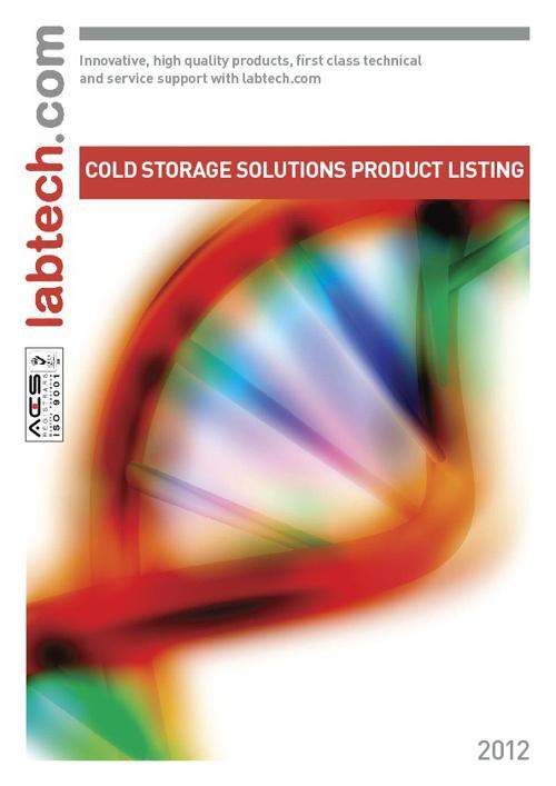 Labtech Catalogue - Cold Storage