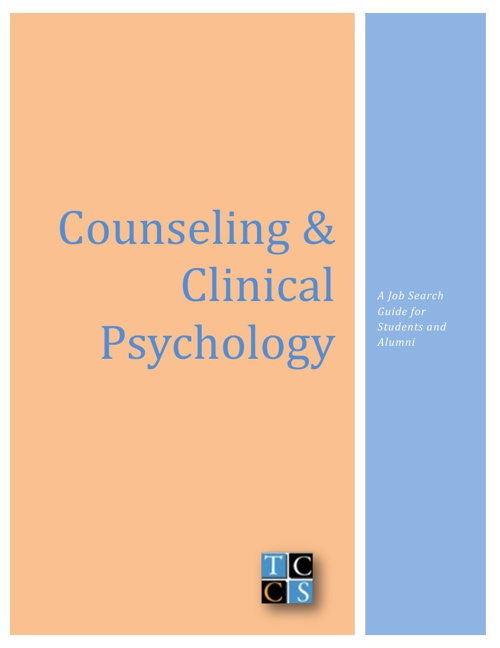 Counseling & Clinical Psychology Guide