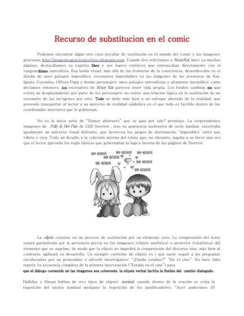 Instruciones sobre historietas