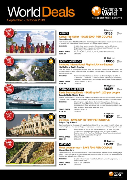 World Deals AW 2013-14