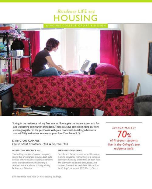 Residence Life and Housing Fact Sheet