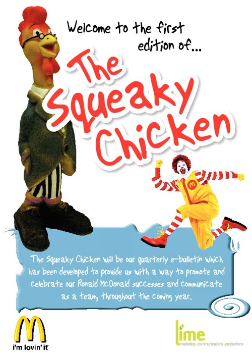 The Squeaky Chicken