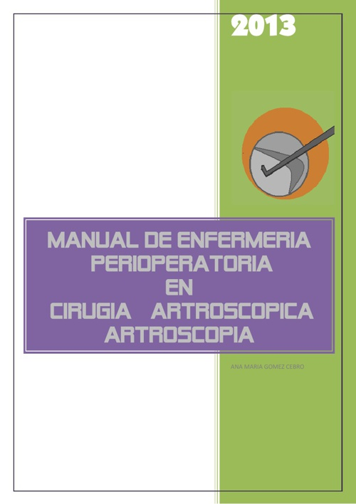 manual de artroscopia para enfermeria