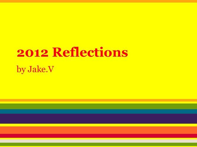 5 Grade Reflections