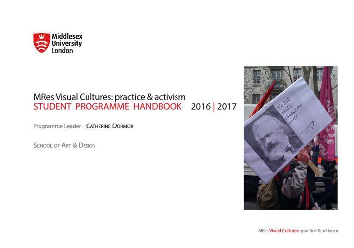 MRes VC Handbook 2016-17 - October 12th 2015 copy