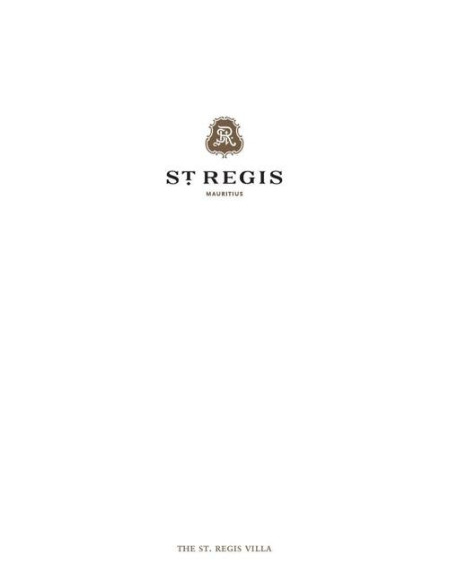 St Regis Villa E-Brochure