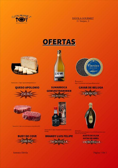 CATALOGO OFERTAS GOURMET SENSATIONS