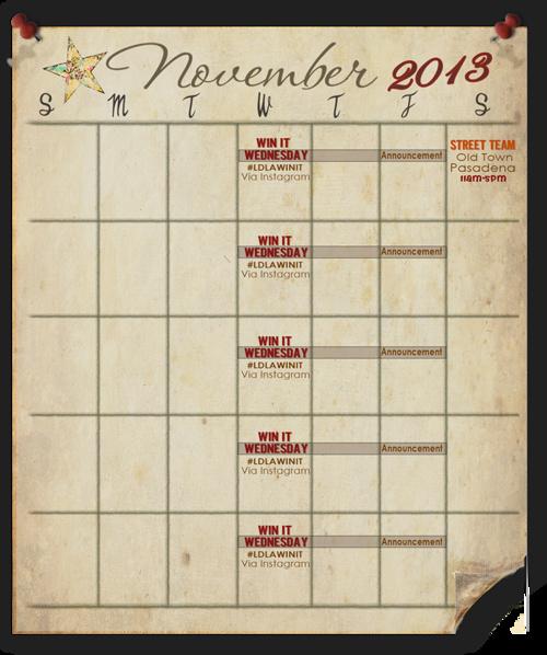 Living Doll Events Calendar