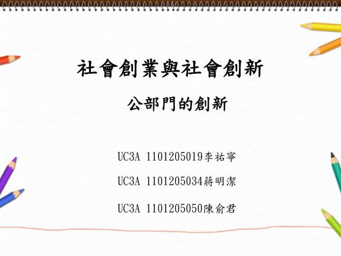 Copy of 社會創業與社會創新