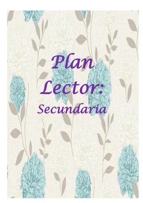 Plan Lector-secundaria