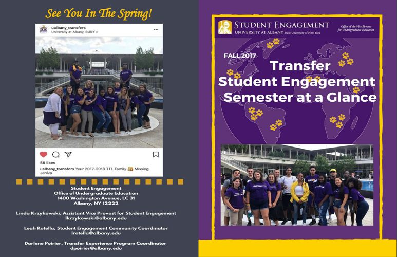 Fall 2017 Transfer Newsletter