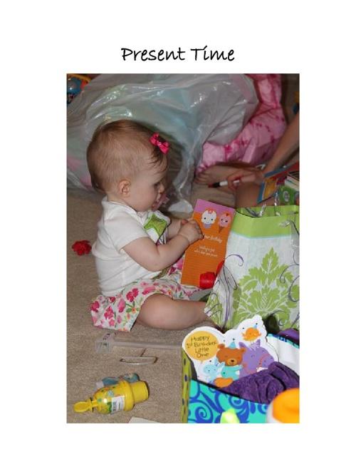 Allison's Birthday - Test Book