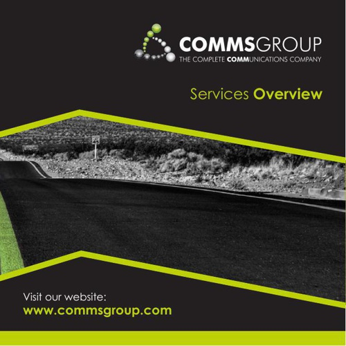 Comms Group Overview Brochure