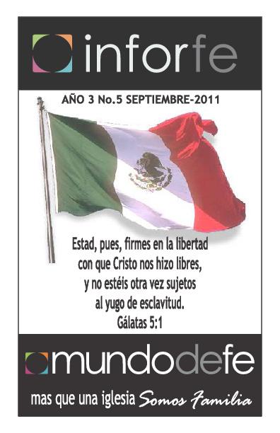 Boletin Septiembre Mundo de Fe México