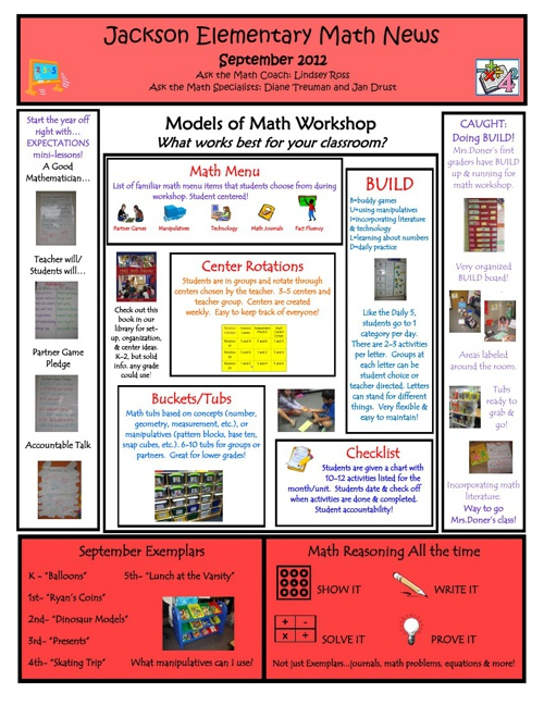 Jackson Math News