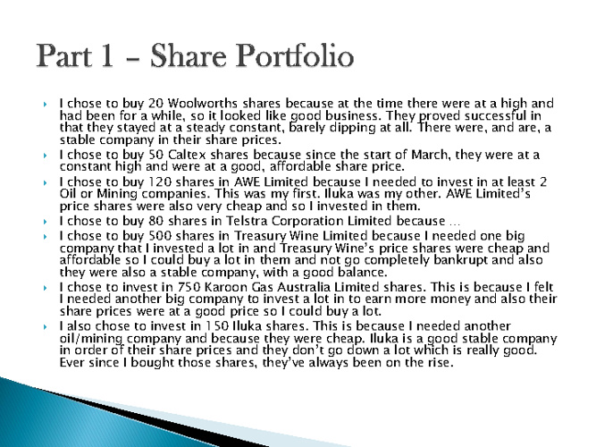 Susannah's Qantas Report