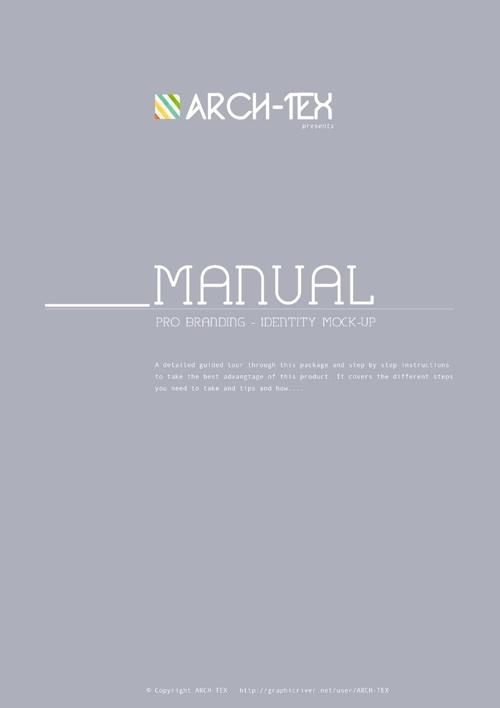 Identity Mock-up Manual