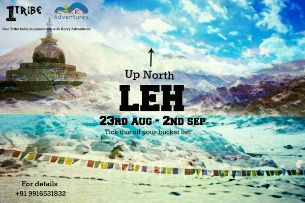Leh with One Tribe India and Kerry Adventures