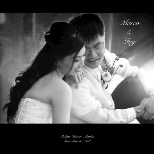 marco & ivy wedding album 10x10