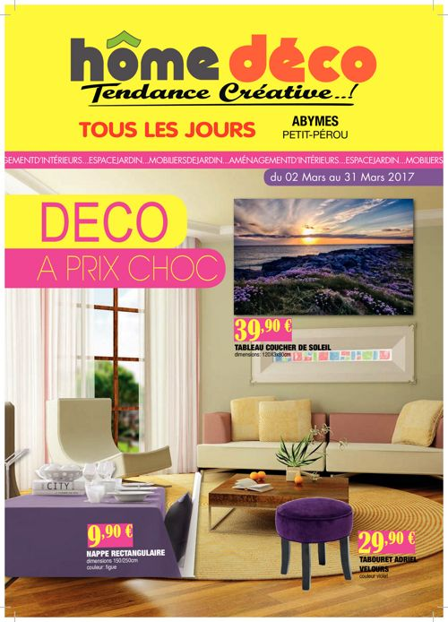 Catalogue home d co mars by 9e7cc8ebdc9 flipsnack for Catalogue deco
