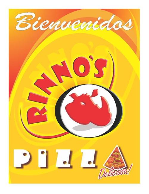 Menú Rinnos Pizza