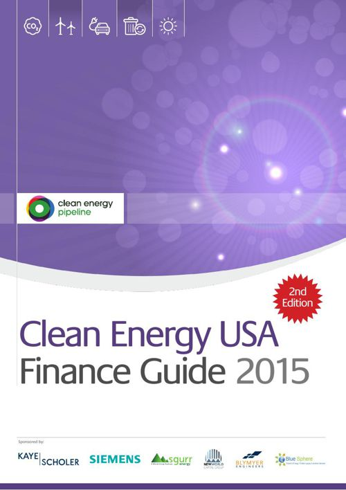 Clean Energy USA Finance Guide 2015
