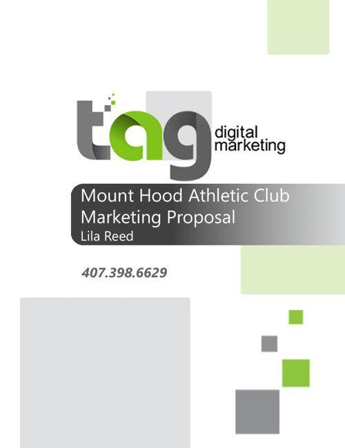 Mount Hood Athletic Club Marketing Proposal_20151103