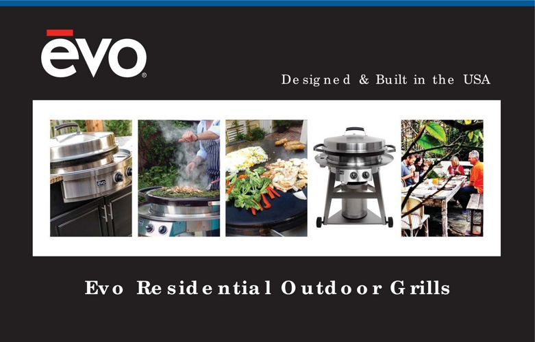 Evo Residential Outdoor Grills