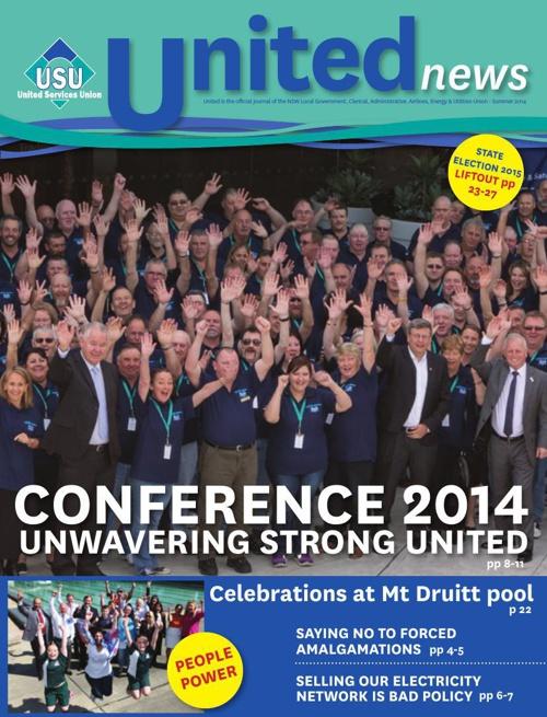 United Magazine Summer 2014