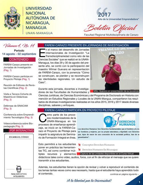 Boletin Volumen 4 - No.14