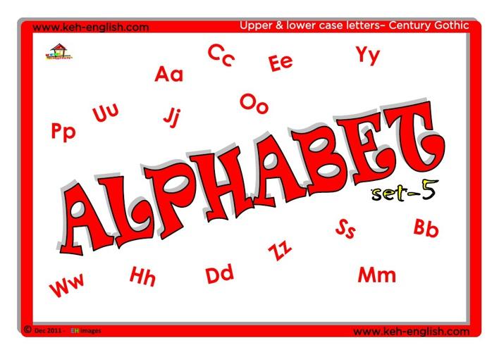 Alphabet - Set 5 (VIP)
