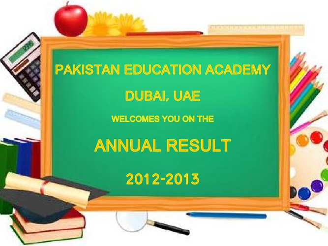 Annual Result 2012-13 Primary