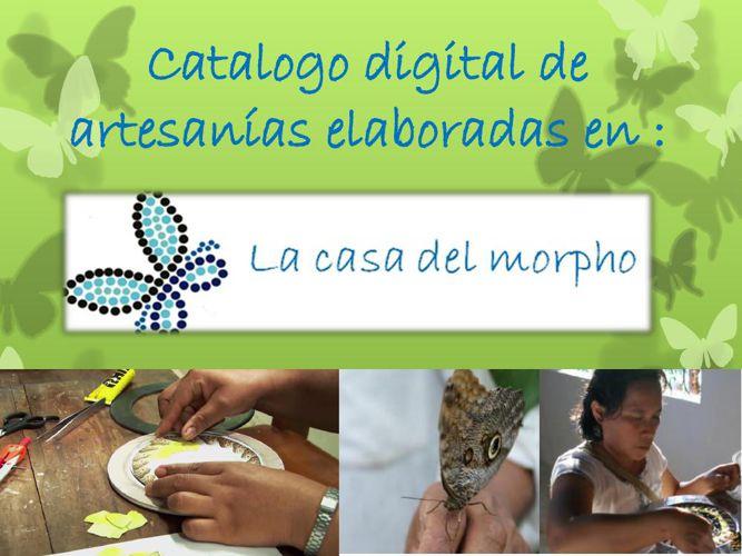 Catalogo digital de artesanías elaboradas en