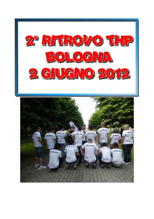 2° RITROVO BOLOGNA 2/06/2012