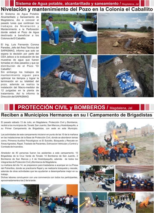 5 Gaceta informativa del Gobierno Municipal de Magdalena Jalisco